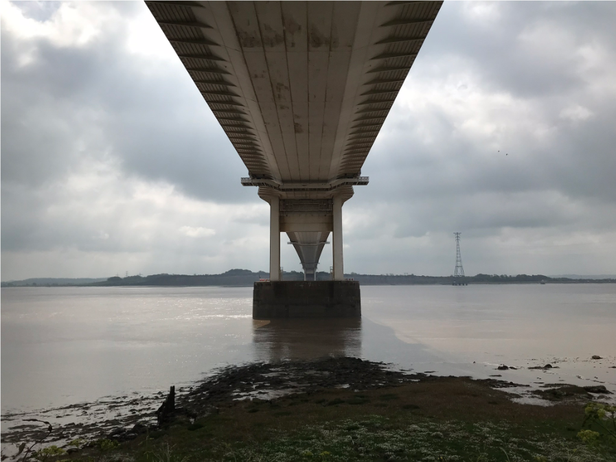 Geology, Hydrology, History, Archaeology and Engineering all on a visit to the Old Severn Bridge